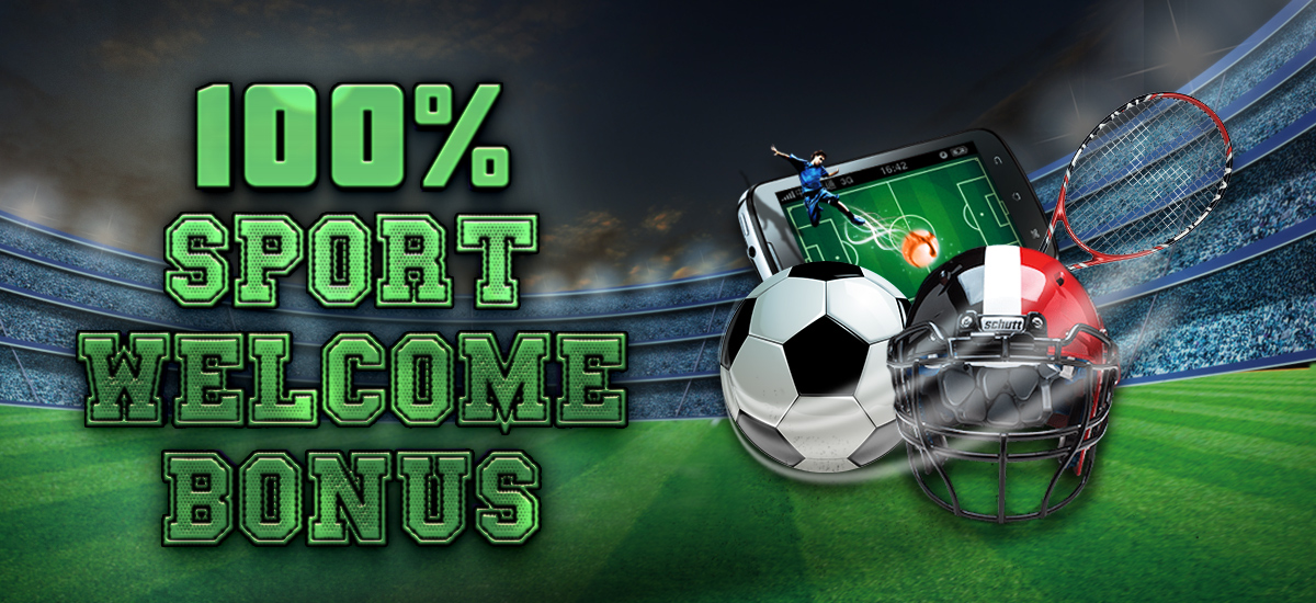 100% sports betting welcome bonus