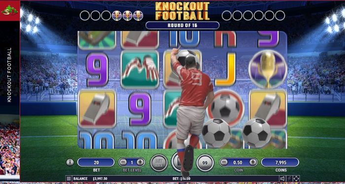 Super Striker в игровом автомате Knockout Football