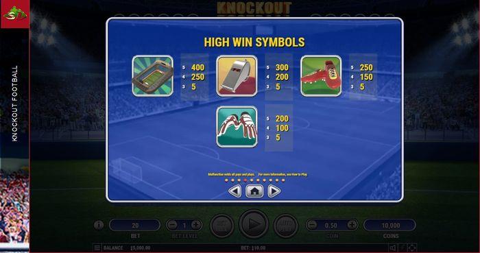 Старшие символы Knockout Football
