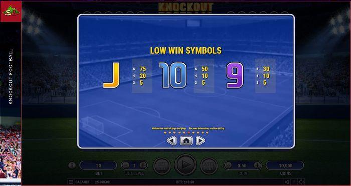 Младшие символы Knockout Football
