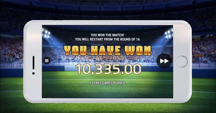 Автомат Knockout Football доступен в мобильном казино
