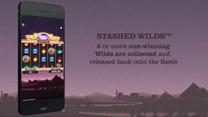 Автомат Wild Scarabs доступен для мобильных устройств