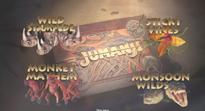 Slots of 2018: Jumanji from NetEnt