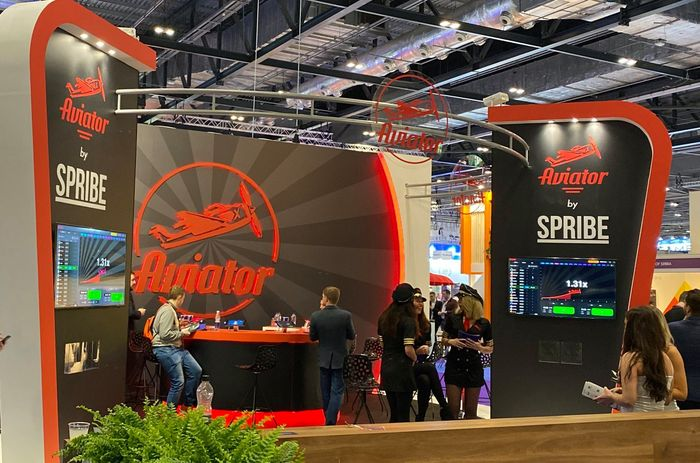 Spribe's Aviator at ICE 2020 in London